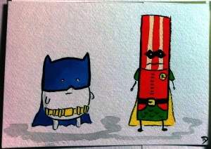 dan-goodsell-bacon-batman-robin