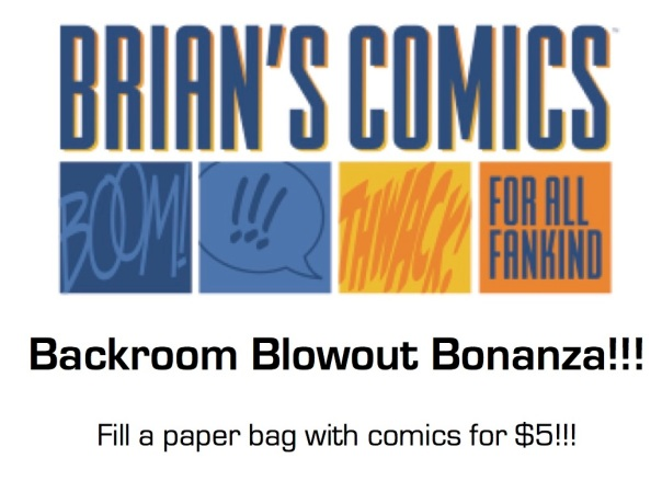 Backroom Blowout Bonanza
